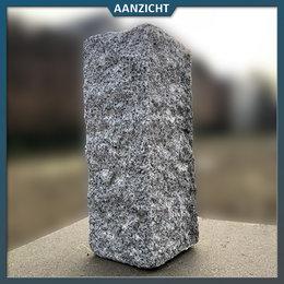 Natuursteenvoordelig Palissade Graniet Lichtgrijs 12x12 cm