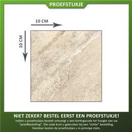 Castelvetro Proefstuk Keramische tegel Gaja Sand