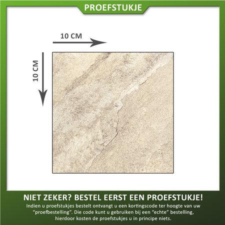 Castelvetro Proefstuk Keramische tuintegel Gaja Sand