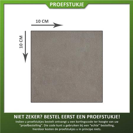 Castelvetro Proefstukje keramische tuintegel Land Dark Grey