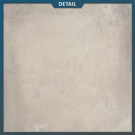 Castelvetro Keramische tuintegel Land Light Grey 80x80x2 cm (Castelvetro)