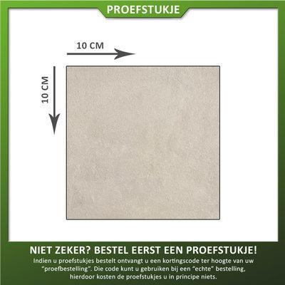 Castelvetro Proefstukje keramische tegel Land Light Grey
