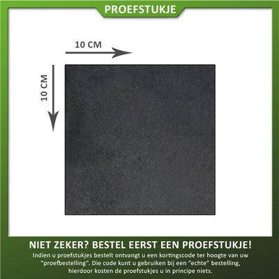 Castelvetro Proefstukje keramische tegel Land Black