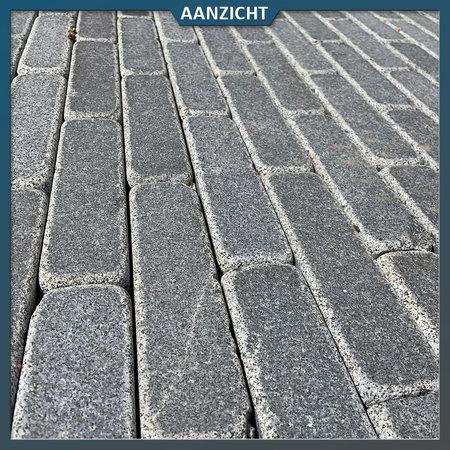 Natuursteenvoordelig Graniet antraciet G654 klinkers 20x5x7 cm