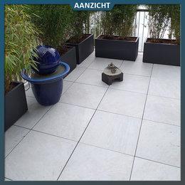 Castelvetro Keramische tegel Quartz White  60x60x2 cm