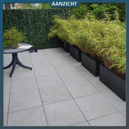 Castelvetro Keramische tuintegel Quartz White  60x60x2 cm