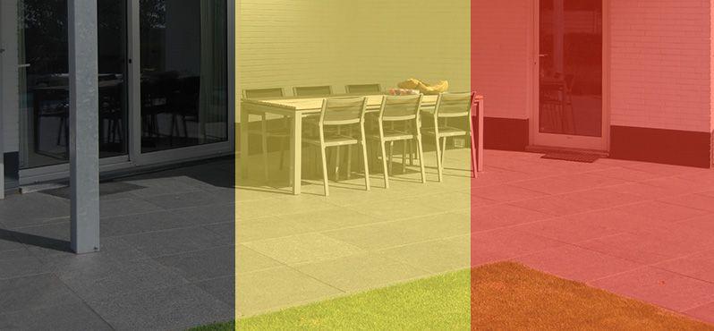Natuursteen of keramische terrastegels kopen in België