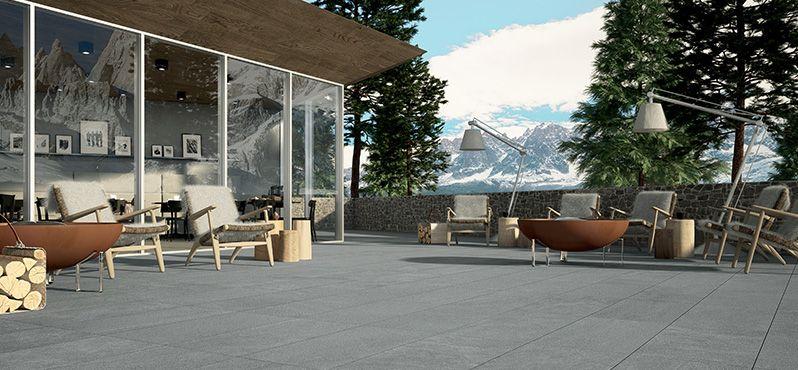Goedkope natuursteen of keramische terrastegels