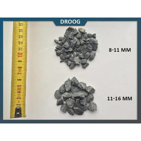 Natuursteenvoordelig Basalt split 8-11 mm