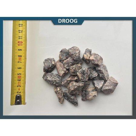 Natuursteenvoordelig Brons graniet split 16-22 mm