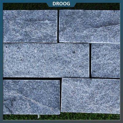 Natuursteenvoordelig Stapelblok Graniet Antraciet 40x16x8 cm