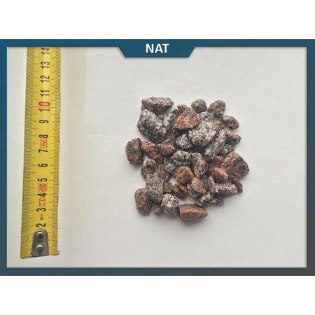 Natuursteenvoordelig Schots graniet rood 8-16 mm
