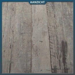 Sant 'Agostino Ceramica Keramische tegel houtlook oud grijs  40x120x2 cm