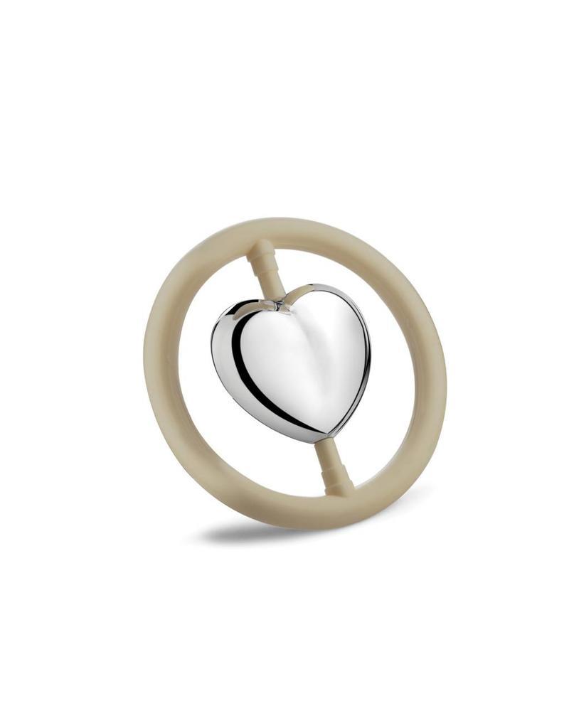 Tavolinchen Silberrassel »Herz«