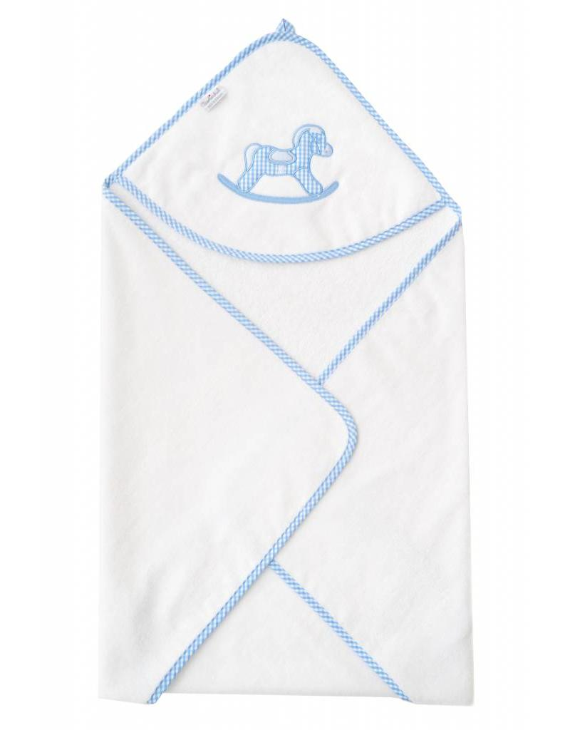 Tavolinchen Kapuzenbadetuch »Schaukelpferd«
