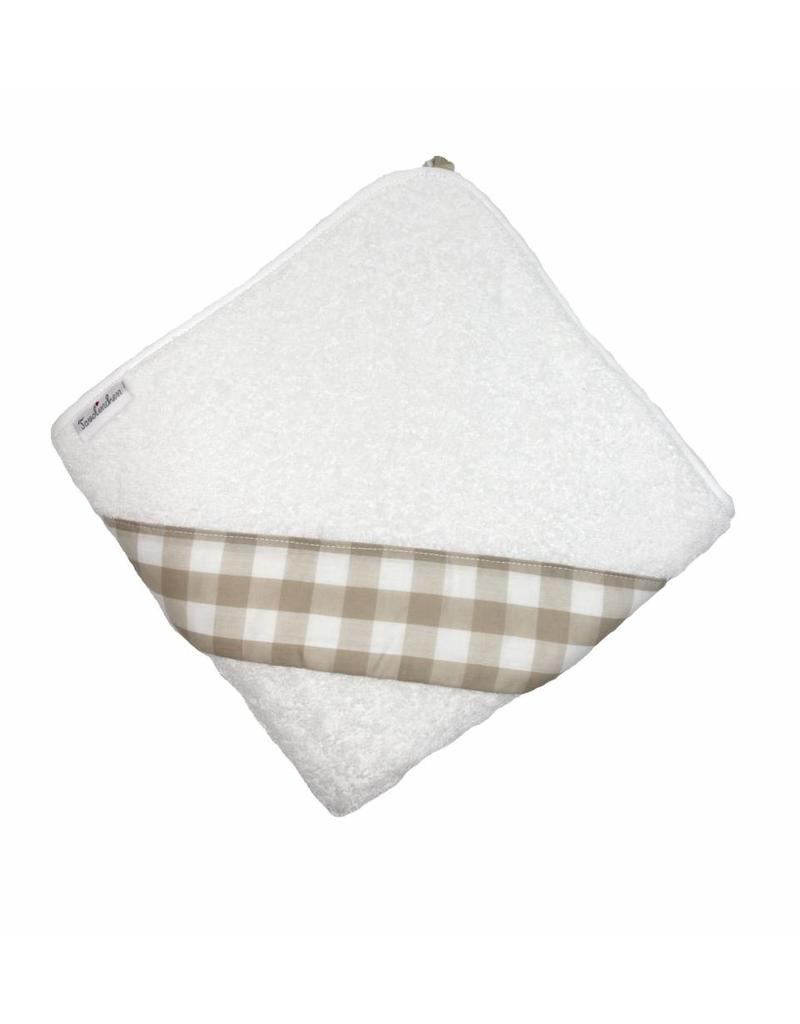 Tavolinchen Kapuzenbadetuch »Bauernkaro«