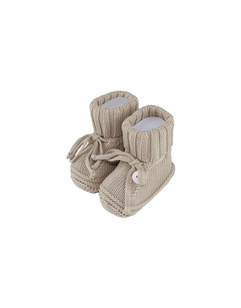 Tavolinchen Baby-Strickschuhe aus Baumwolle