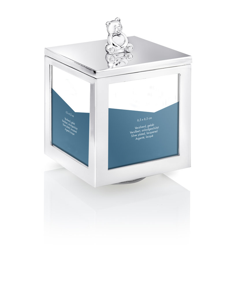 Tavolinchen Fotodose Bär mit Spieluhr