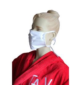 TAVO Mund-Nasen-Maske für Erwachsene (2Stück/ Binden)