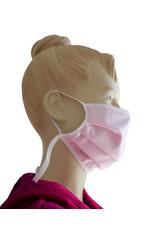 """TAVO  Umhänge-Mund-Nasen-Maske """"Boluda"""" aus Stoff  für Erwachsene zum Umhängen und Hochklappen (Verpackungseinheit =2 Stück)"""