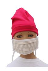 """Tavolinchen  Umhänge-Mund-Nasen-Maske """"klassischer Streifen"""" aus Stoff  für Kinder zum Umhängen und Hochklappen (Verpackungseinheit =2 Stück)"""