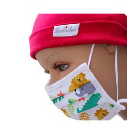 """Tavolinchen Umhänge-Mund-Nasen-Maske """"Dschungel"""" für Kinder (2Stück/ Umhängen)"""