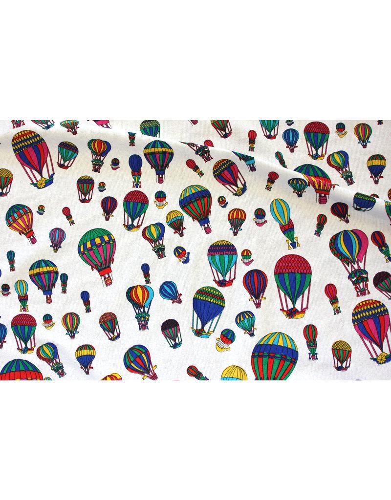 """TAVO Frottier-Stoff  »bunte Luftballons"""""""