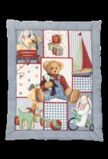 "Tavolinchen Tavolinchen Playpen insert ""The bear in the dungarees"""