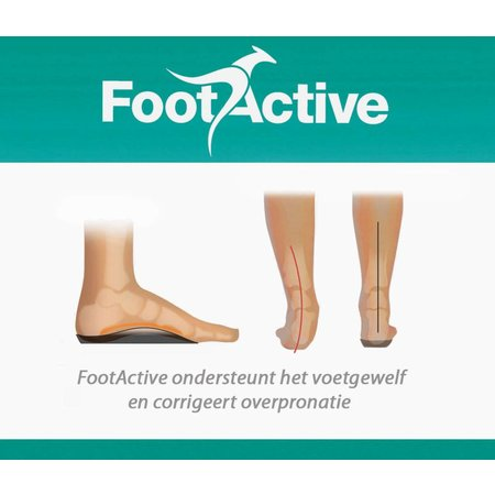 FootActive Casual inlegzool