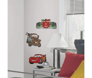 Cars Muursticker 3D