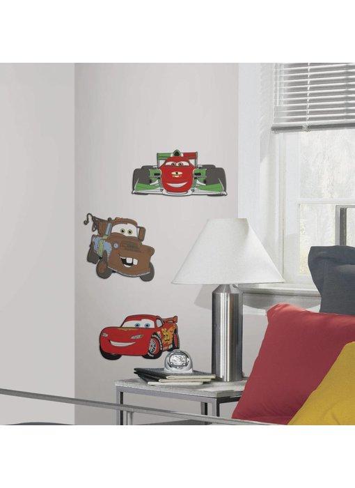 Cars Muursticker 3D