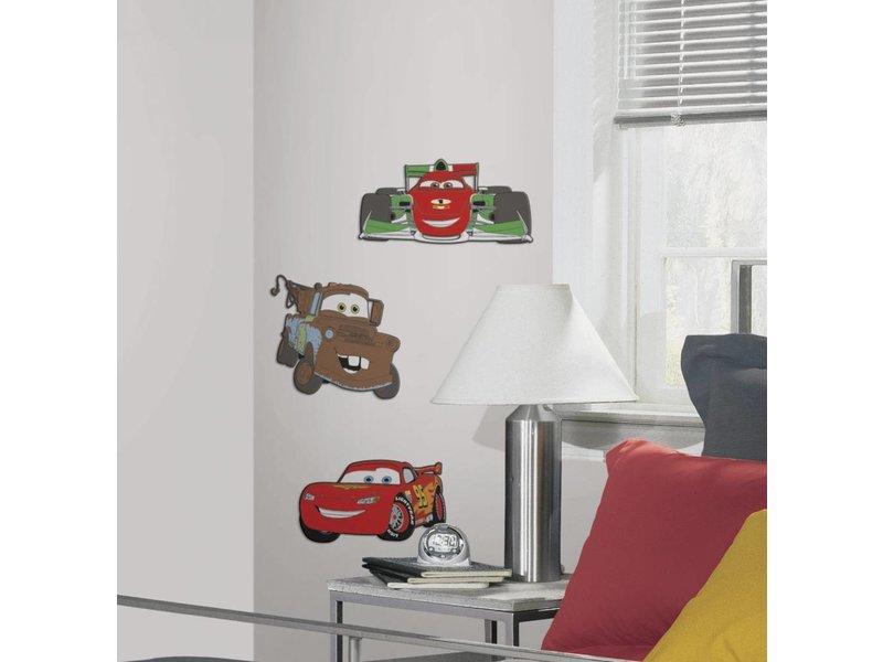 Disney Cars Muursticker 3D