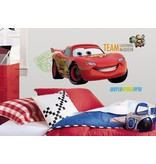 Disney Cars muursticker Lightning McQueen groot