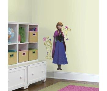 Anna Frozen muursticker (groot)