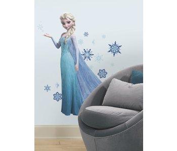 Elsa Frozen muursticker (groot)