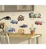Disney Cars Muursticker McQueen en vrienden