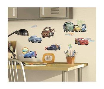 Cars Muursticker Lightning McQueen en vrienden