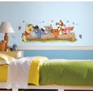Disney Winnie de Poeh muursticker boomstam
