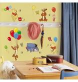 Disney Winnie de Poeh muursticker ballonnen