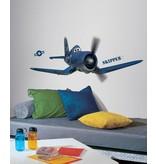 Disney Planes muursticker Skipper