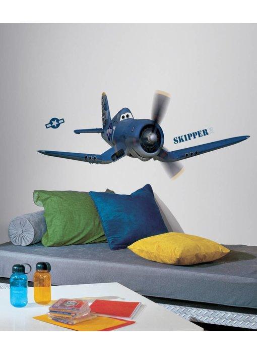 Planes muursticker Skipper