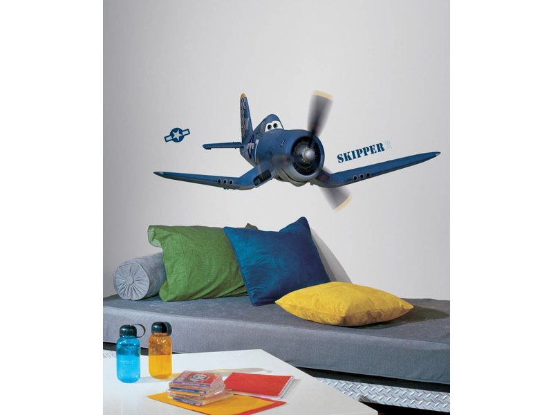 Disney Planes muursticker Skipper