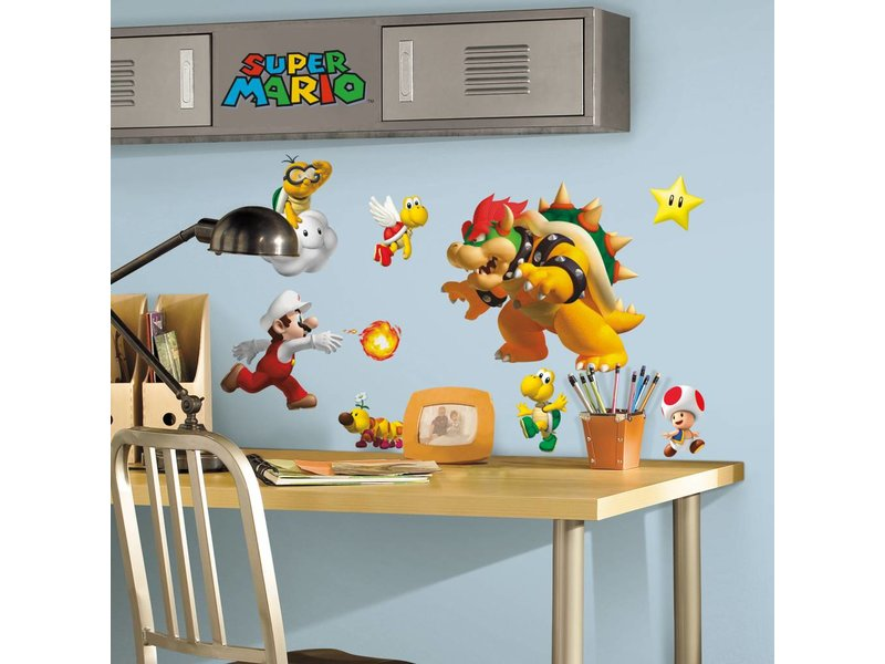 Disney Muursticker Super Mario