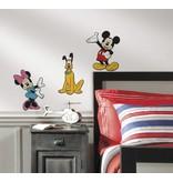 Disney Muursticker Mickey, Minnie en Pluto 3D