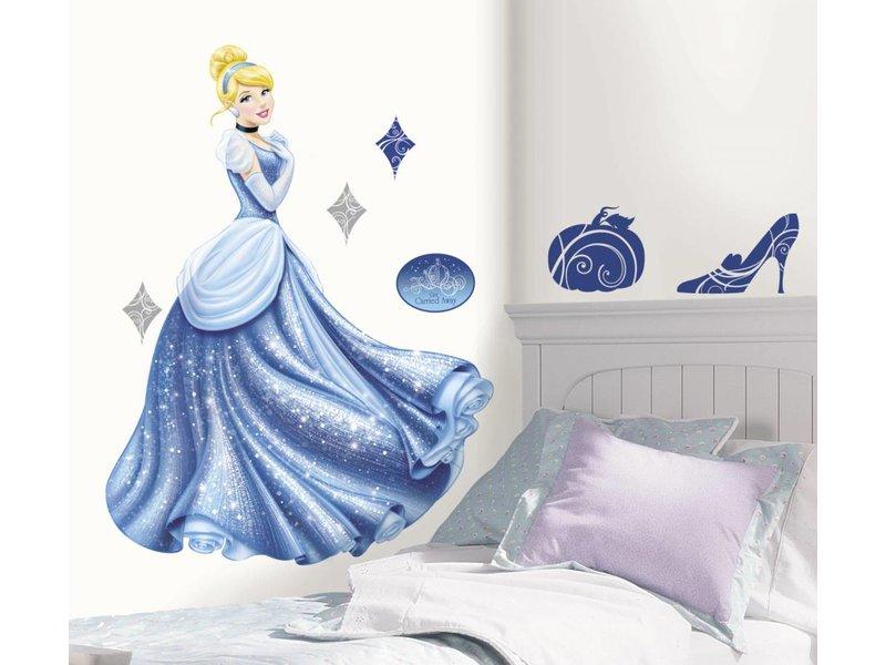 Disney Muursticker Assepoester groot (Disney Princess)