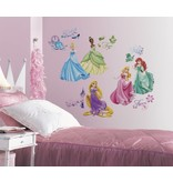 Disney Disney Princess muursticker van alle Disney prinsessen