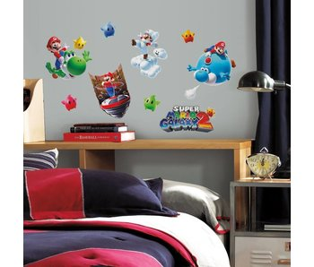 Super Mario Galaxy 2 muurstickers