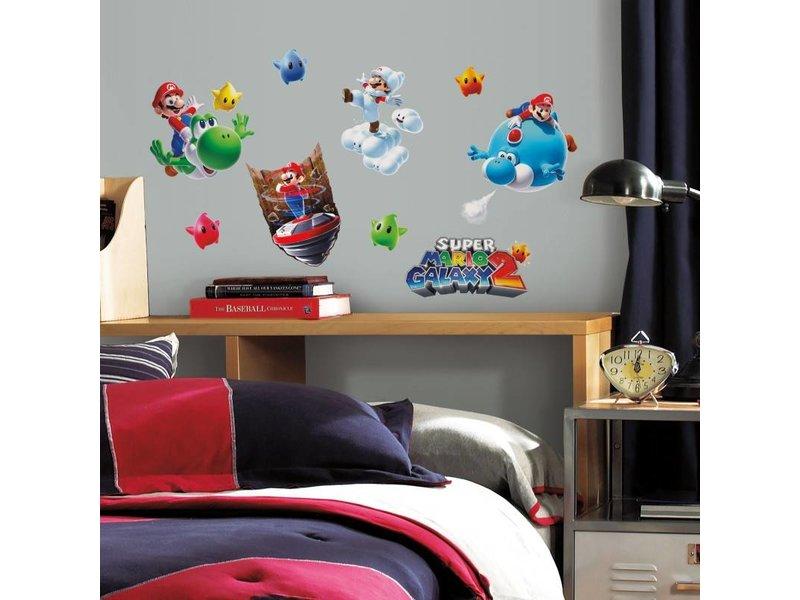 Super Mario Galaxy 2 Muurstickers
