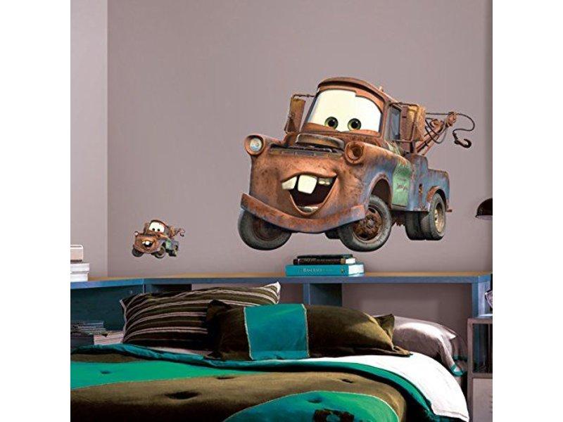 Disney Cars muursticker Takel groot