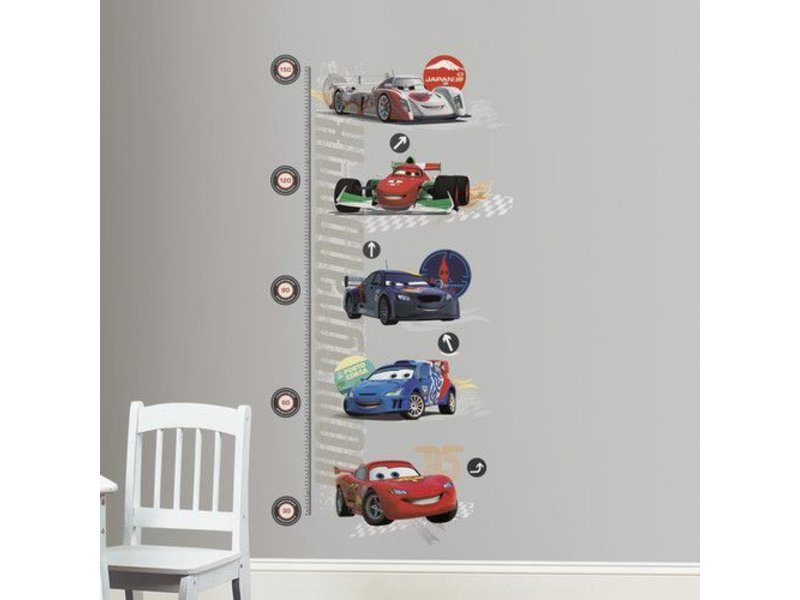 Disney Groeimeter Cars muursticker